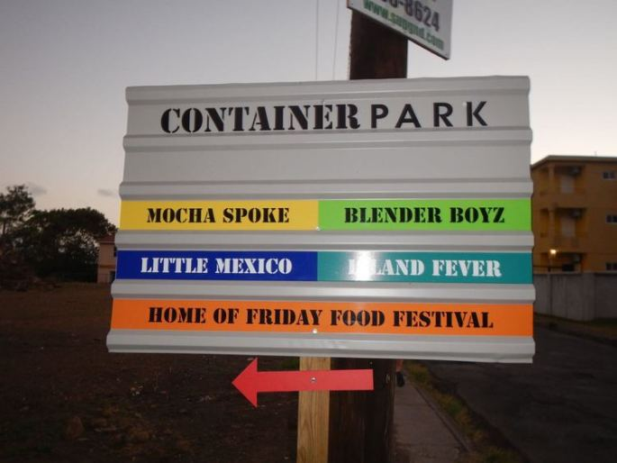 Container Park Friday Food Fest